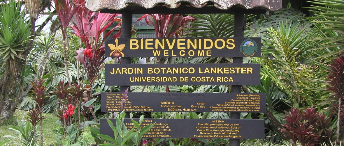 Welcome Lankester botanical gardens