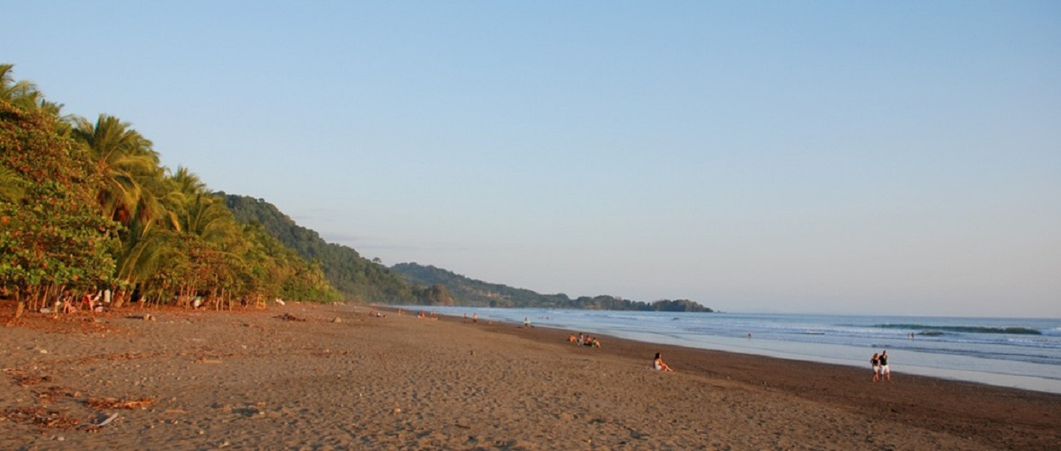 Dominical beach, Costa Rica