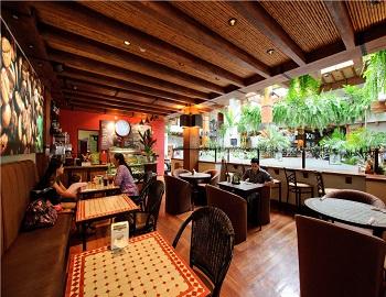 Hotel Balmoral, Café el patio