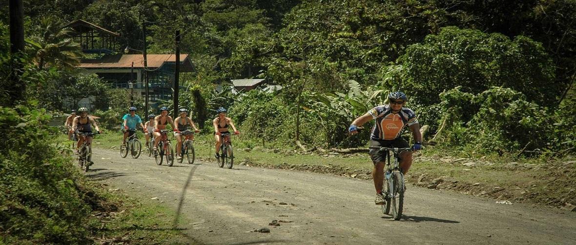 Biking Arenal Volcano