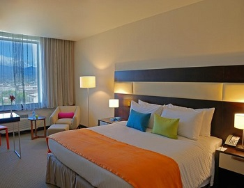 Park Inn hotel, standard and deluxe rooms