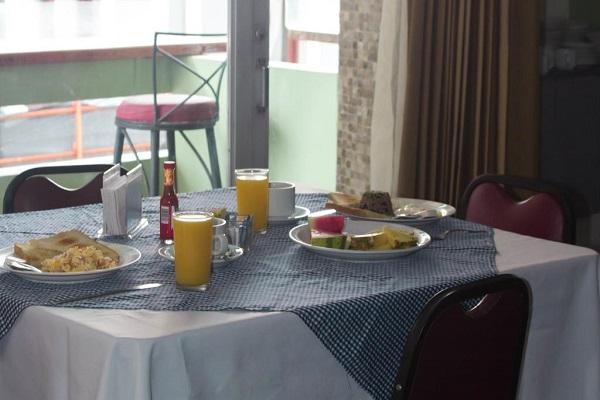 Hotel El Maragato restaurant