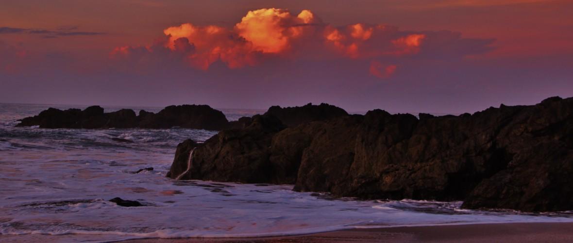 Montezuma sunset Costa Rica