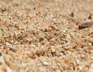 Conchal Beach, sand