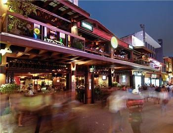 Hotel Balmoral, the Patio restaurant bar